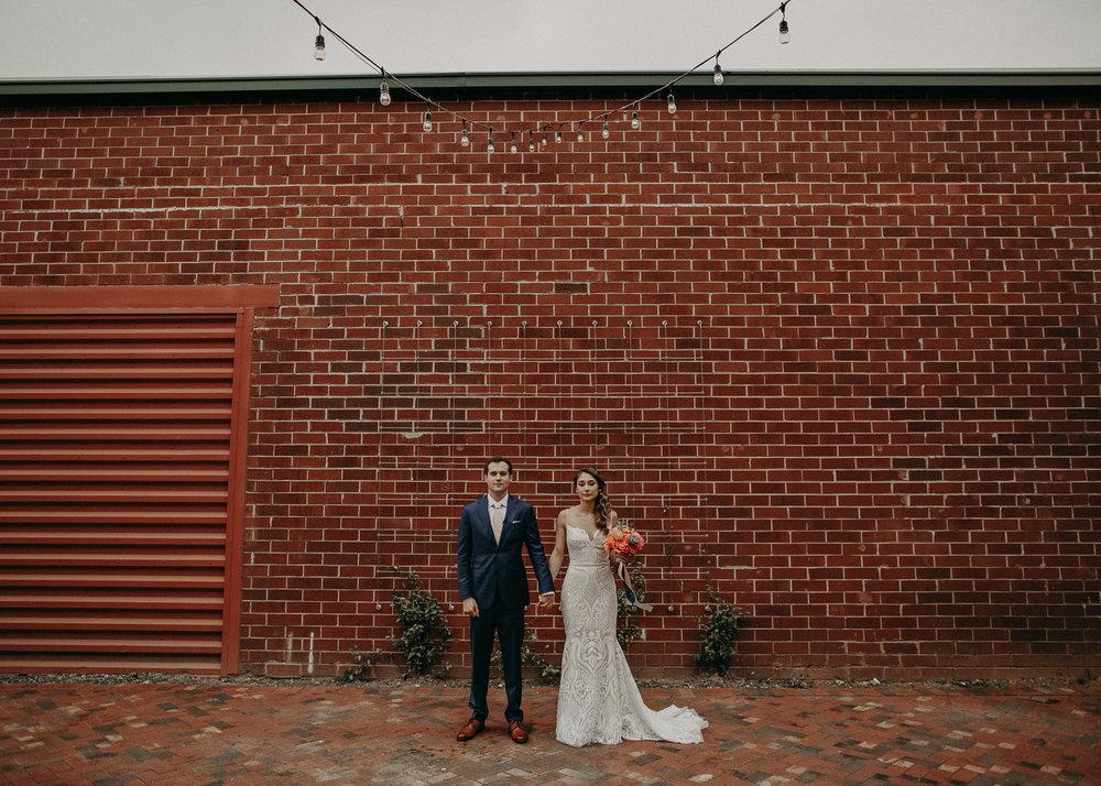 Atlanta Weddings - Monday Night Brewing Garage Wedding Day - Engagement Shoot - Georgia - Aline Marin Photography-32.jpg