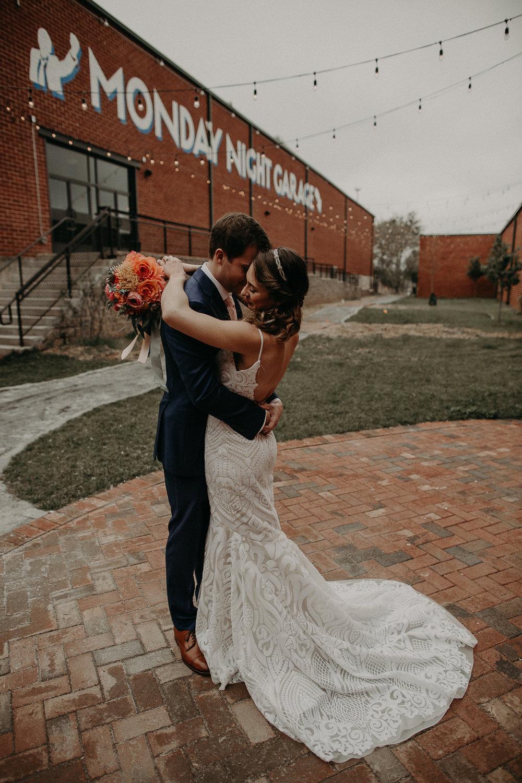 Atlanta Weddings - Monday Night Brewing Garage Wedding Day - Engagement Shoot - Georgia - Aline Marin Photography-35.JPG