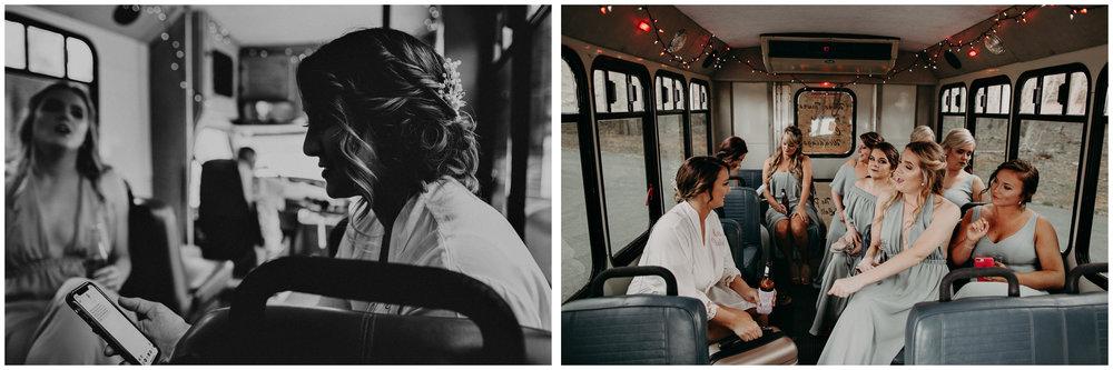 12 - Riding to wedding in a rental bus .jpg