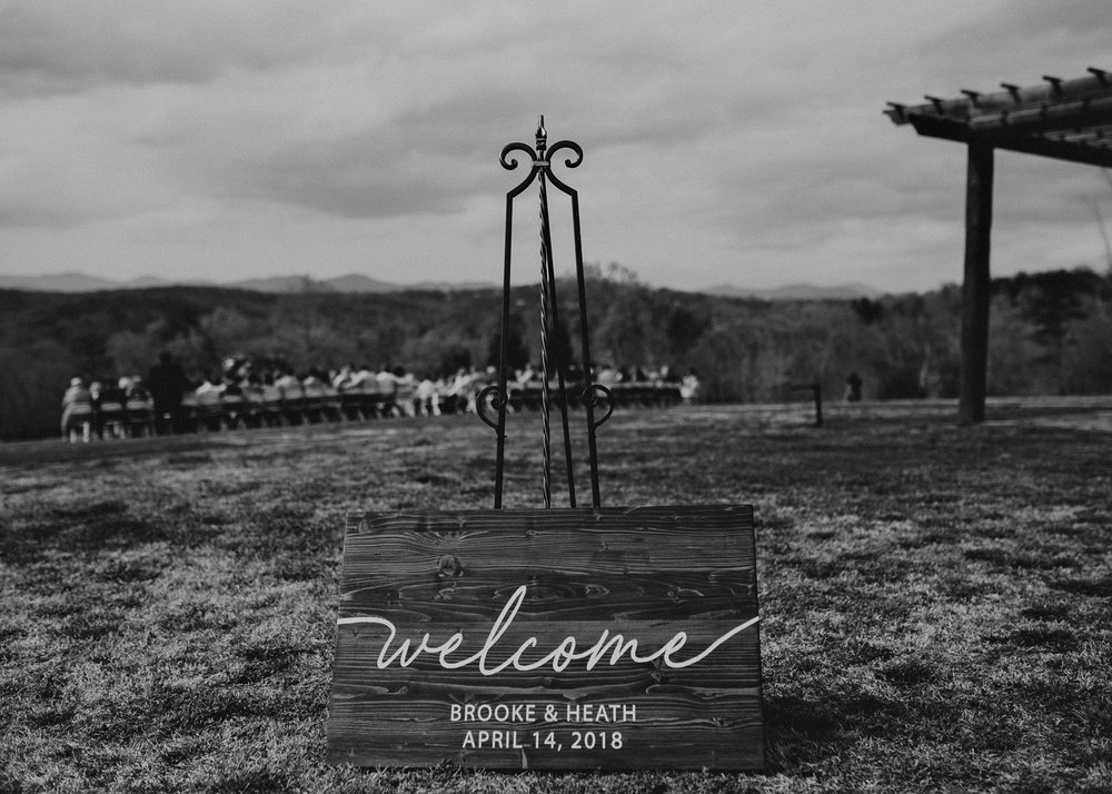 45 - Welcome sign on wedding day .jpg