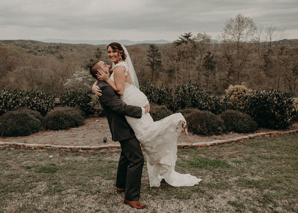 65 - Bride and groom having fun on wedding day .jpg