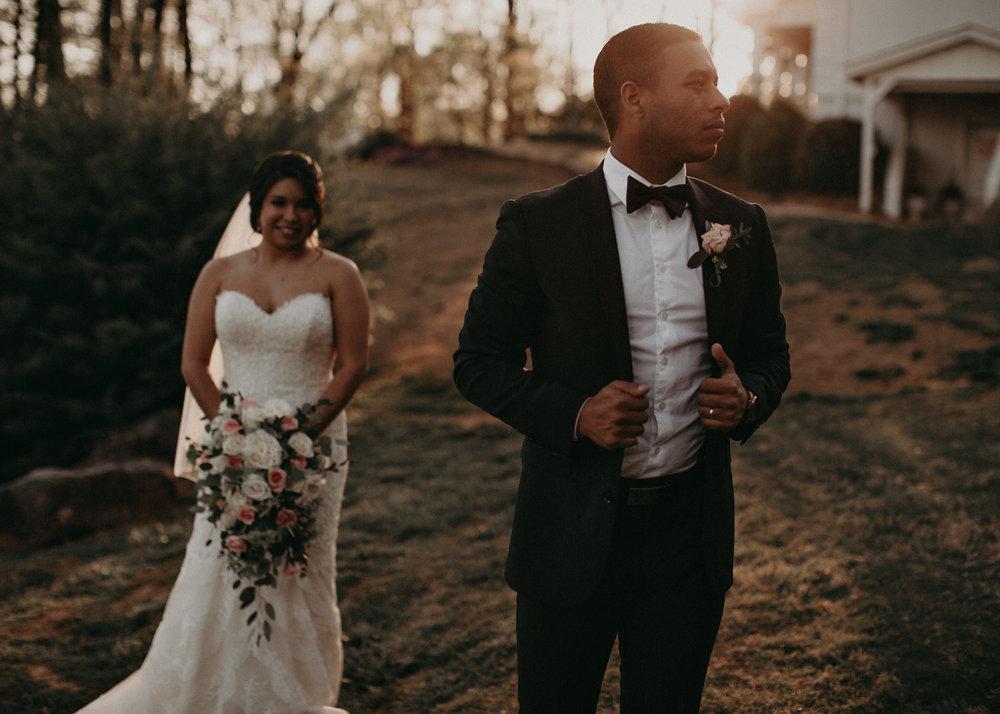 1 - Little River Farms - first look - Atlanta - Wedding Venue - Atlanta Wedding Photographer - Georgia weddings .jpg