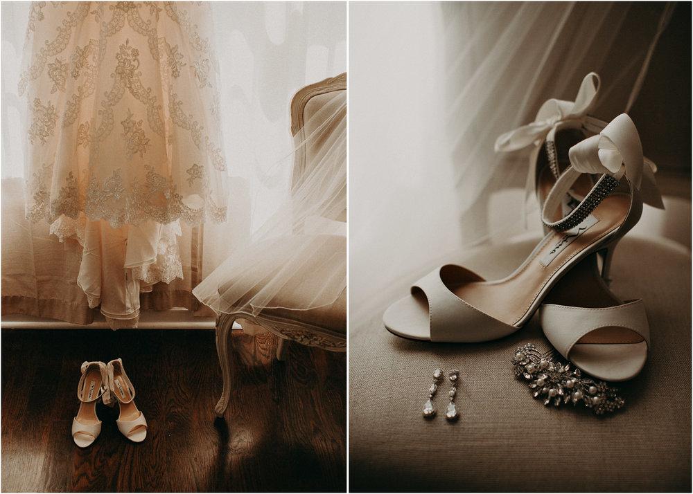 4 - Little River Farms - first look - Atlanta - Wedding Venue - Atlanta Wedding Photographer - Georgia weddings details wedding dress shoes gather .jpg