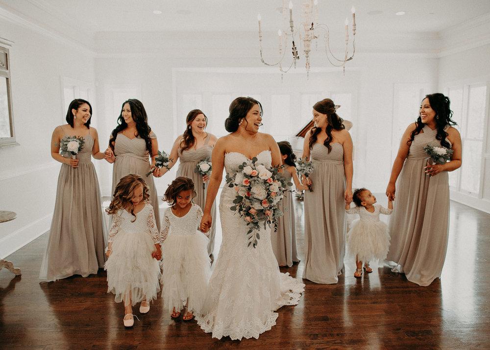20  - Little River Farms - first look - Atlanta - Wedding Venue - Atlanta Wedding Photographer - Georgia weddings details wedding dress shoes gather groom bridal party .jpg