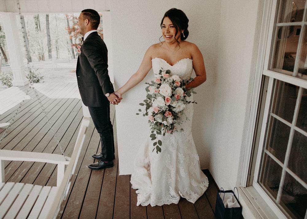 26  - Little River Farms - first look - Atlanta - Wedding Venue - Atlanta Wedding Photographer - Georgia weddings details wedding dress shoes gather groom bridal party .jpg