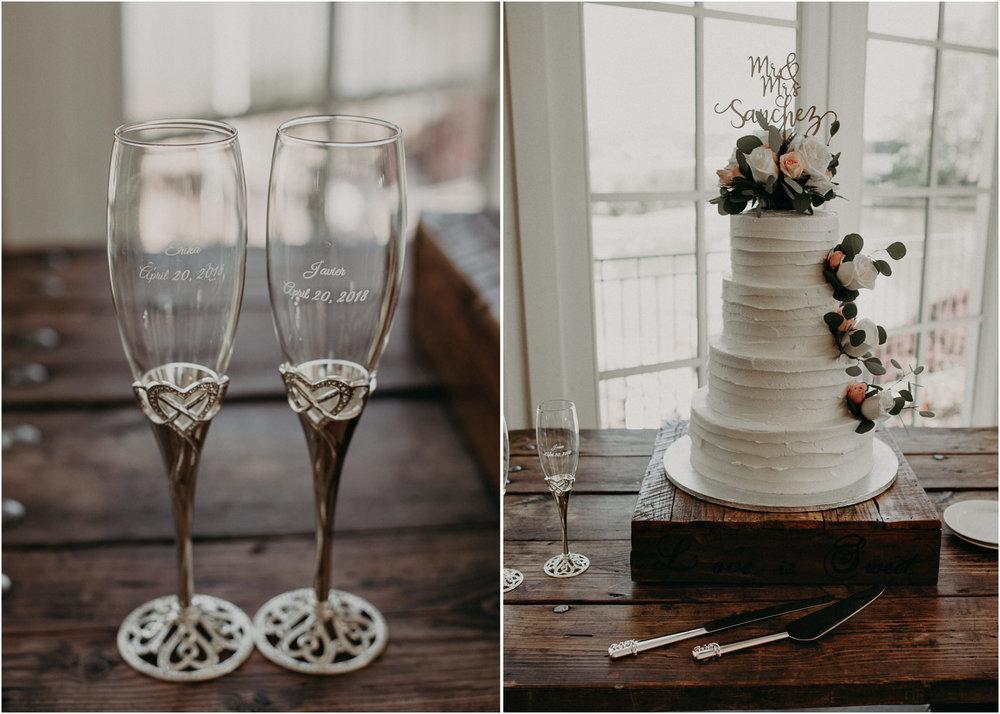 34.1  - Little River Farms - first look - Atlanta - Wedding Venue - Atlanta Wedding Photographer - Georgia weddings details wedding dress shoes gather groom bridal party .jpg