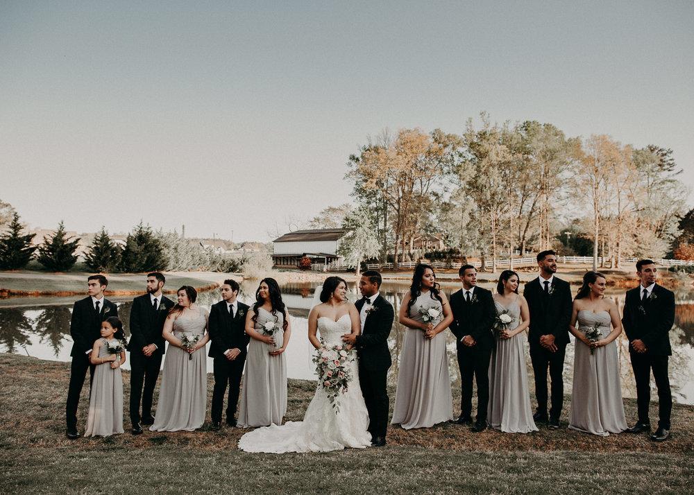 45  - Little River Farms - first look - Atlanta - Wedding Venue - Atlanta Wedding Photographer - Georgia weddings details wedding dress shoes gather groom bridal party .jpg