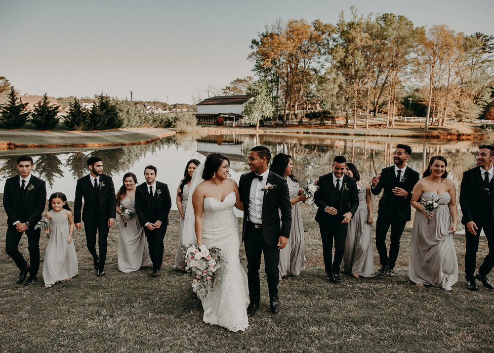 46  - Little River Farms - first look - Atlanta - Wedding Venue - Atlanta Wedding Photographer - Georgia weddings details wedding dress shoes gather groom bridal party .jpg