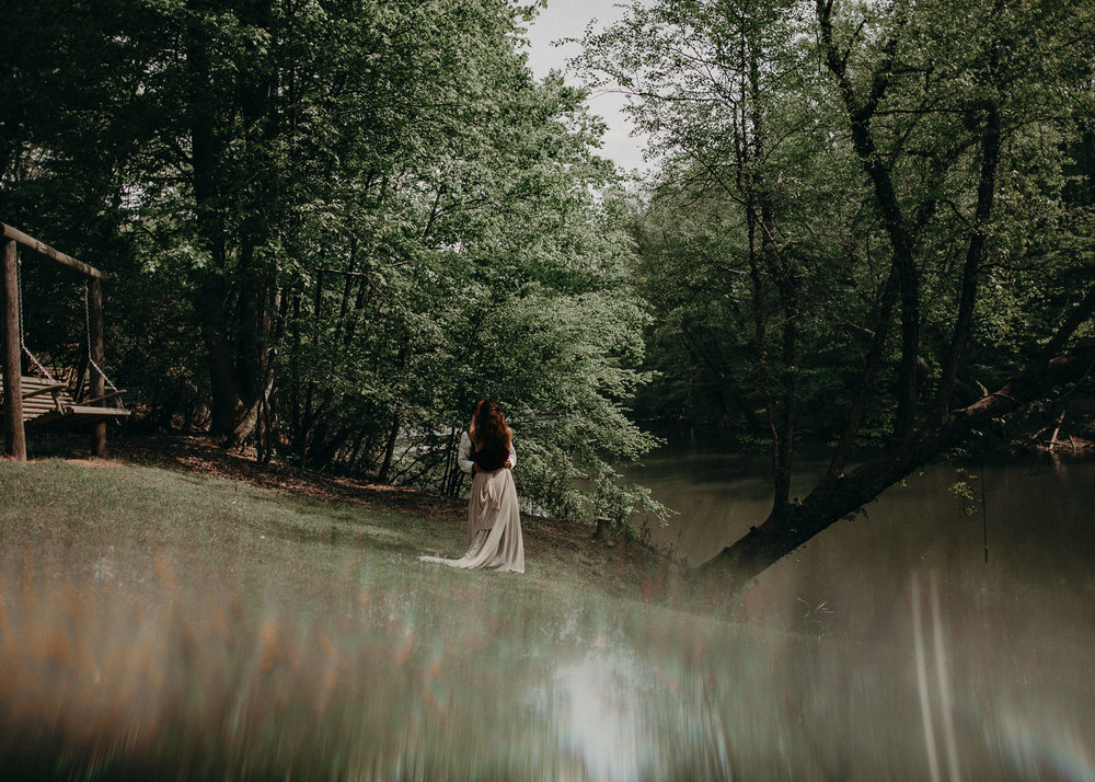 46- Forest wedding boho enchanched fairytale wedding atlanta - ga , intimate, elopement, nature, greens, good vibes. Aline Marin Photography .jpg