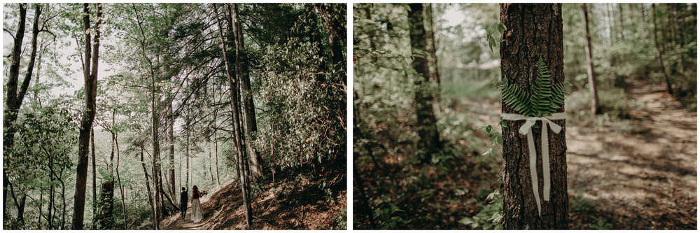 51- Forest wedding boho enchanched fairytale wedding atlanta - ga , intimate, elopement, nature, greens, good vibes. Aline Marin Photography .jpg