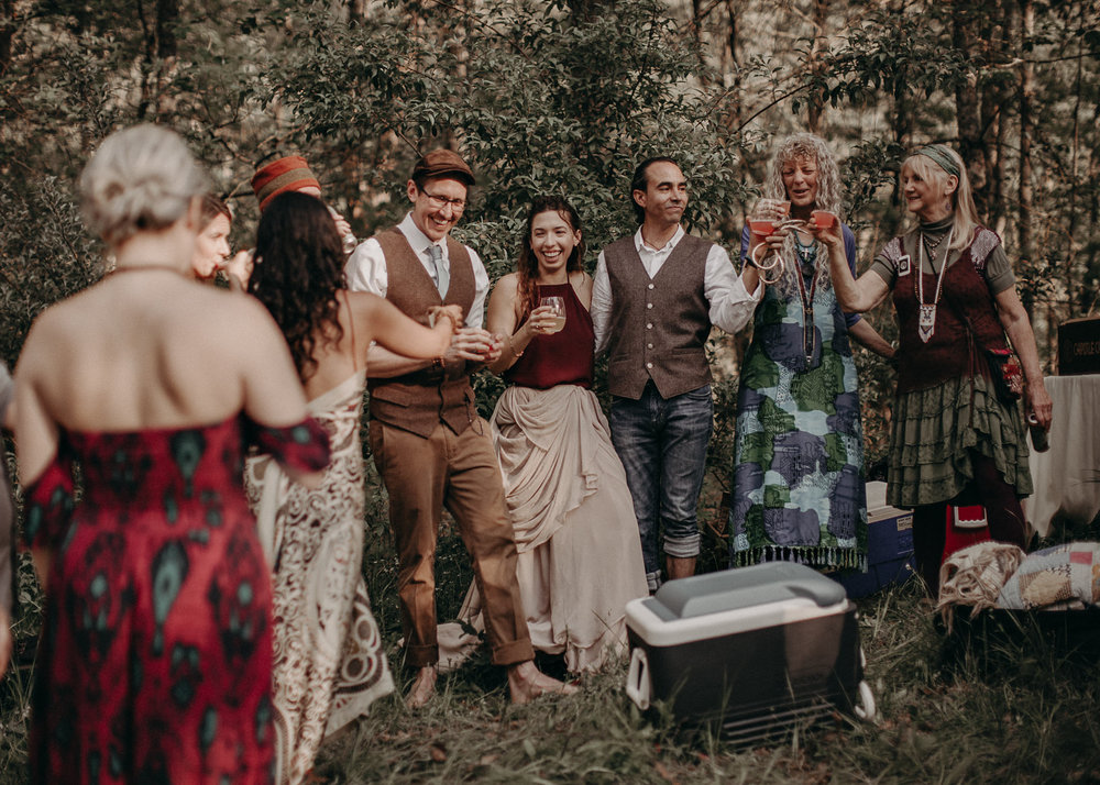71- Forest wedding boho enchanched fairytale wedding atlanta - ga , intimate, elopement, nature, greens, good vibes. Aline Marin Photography .jpg