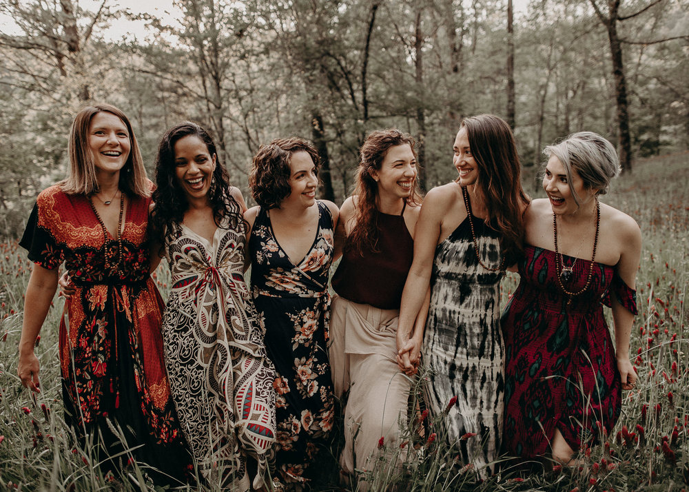 76- Forest wedding boho enchanched fairytale wedding atlanta - ga , intimate, elopement, nature, greens, good vibes. Aline Marin Photography .jpg