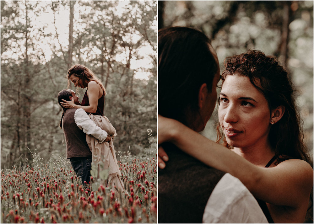 85- Forest wedding boho enchanched fairytale wedding atlanta - ga , intimate, elopement, nature, greens, good vibes. Aline Marin Photography .jpg