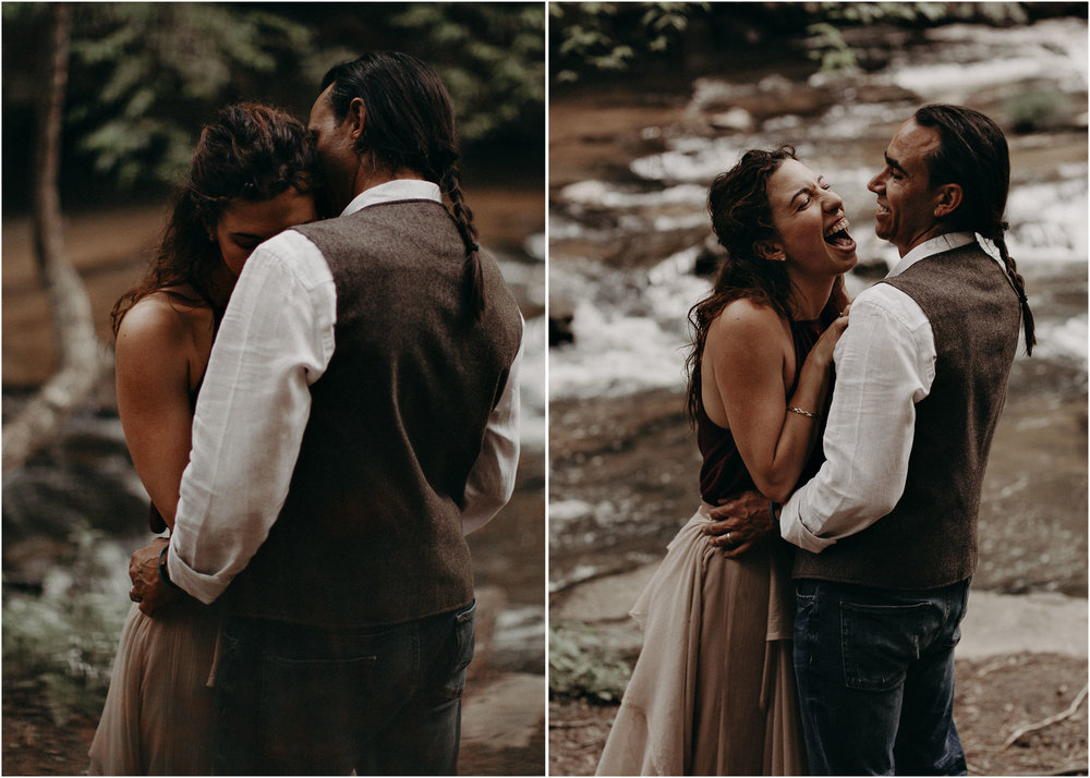 89- Forest wedding boho enchanched fairytale wedding atlanta - ga , intimate, elopement, nature, greens, good vibes. Aline Marin Photography .jpg