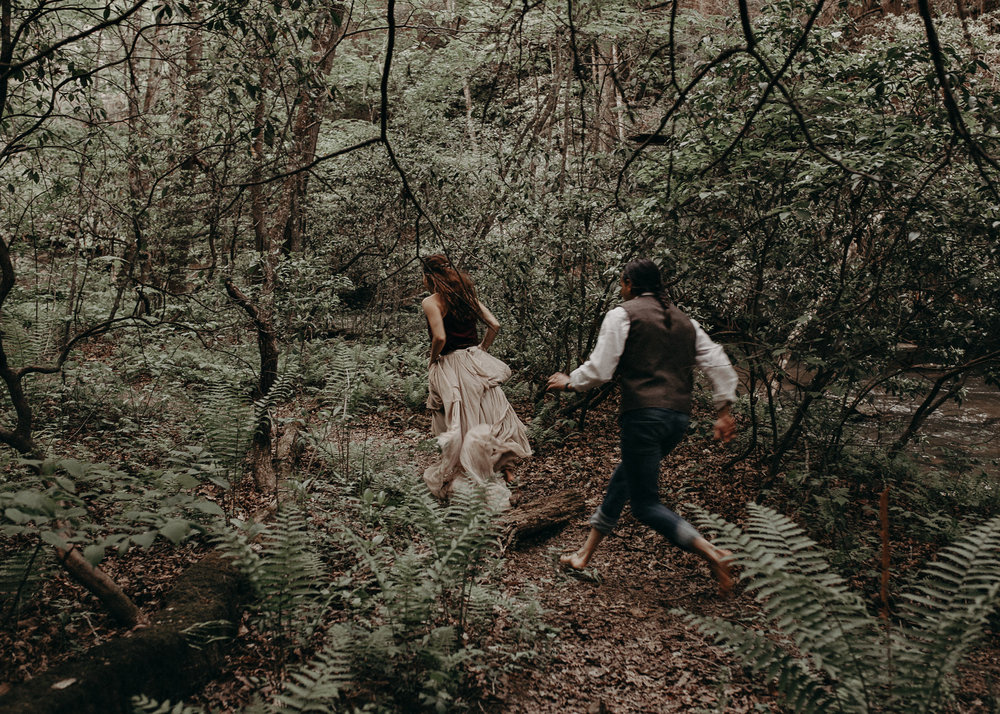 90- Forest wedding boho enchanched fairytale wedding atlanta - ga , intimate, elopement, nature, greens, good vibes. Aline Marin Photography .jpg