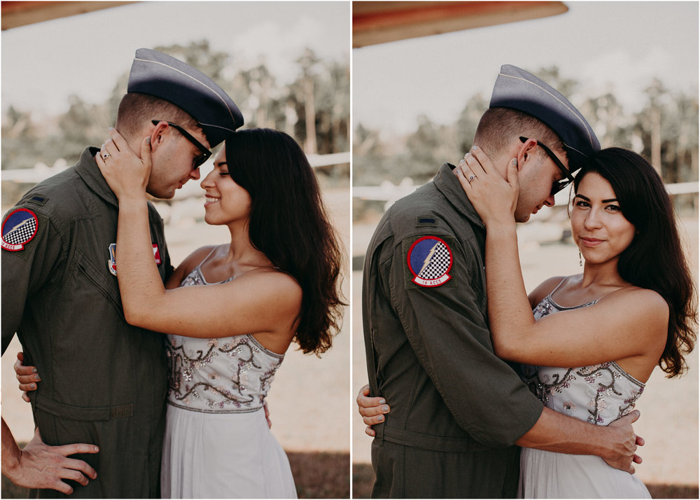 23 Museum of aviation engagement shoot - preview - Aline Marin Atlanta Photographer .jpg