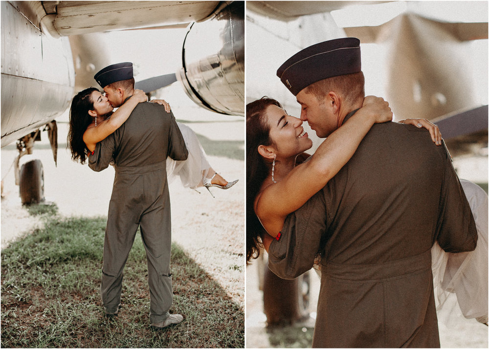 29 Museum of aviation engagement shoot - preview - Aline Marin Atlanta Photographer .jpg