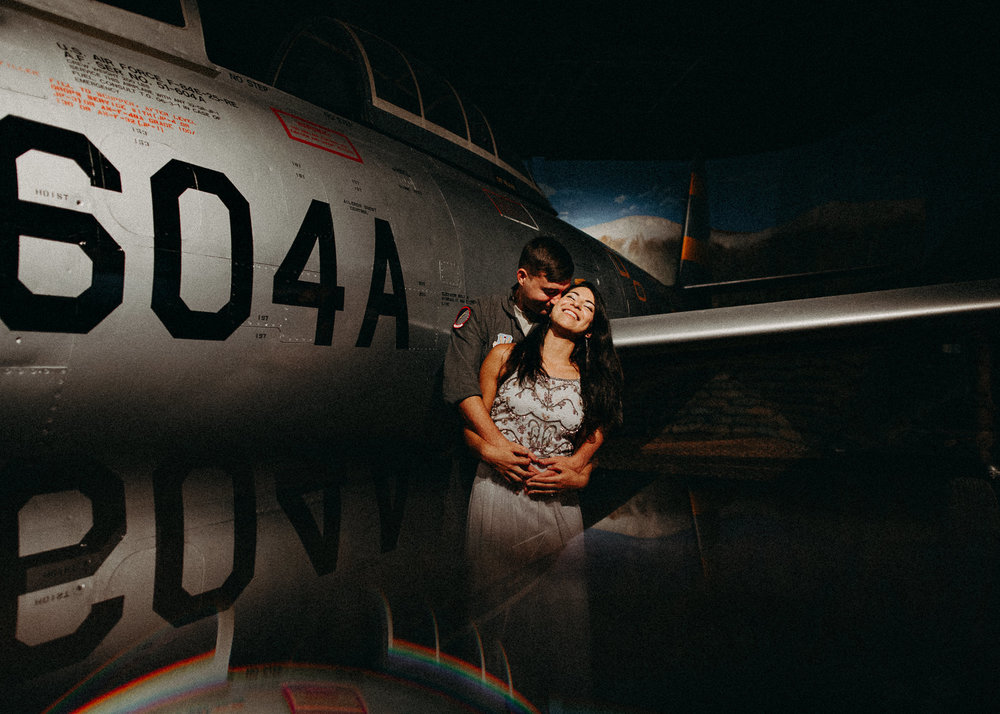 5 Museum of aviation engagement shoot - preview - Aline Marin Atlanta Photographer .jpg