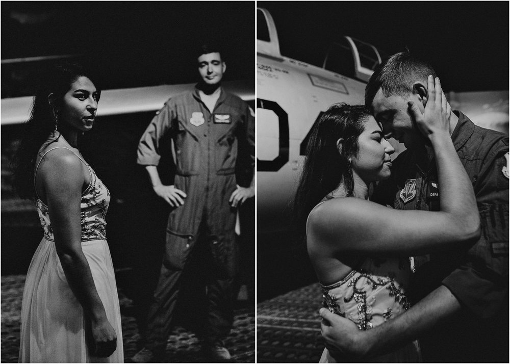 8 Museum of aviation engagement shoot - preview - Aline Marin Atlanta Photographer .jpg