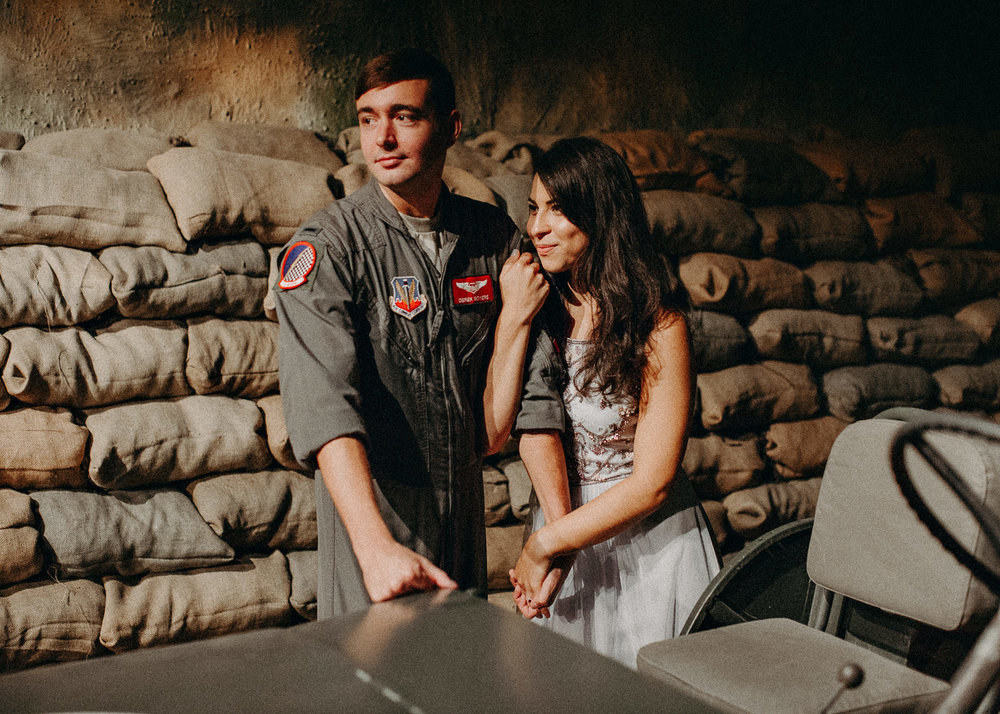9 Museum of aviation engagement shoot - preview - Aline Marin Atlanta Photographer .jpg