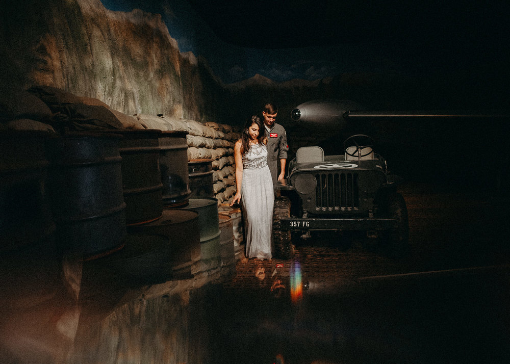 11 Museum of aviation engagement shoot - preview - Aline Marin Atlanta Photographer .jpg