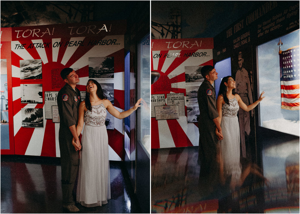 15 Museum of aviation engagement shoot - preview - Aline Marin Atlanta Photographer .jpg