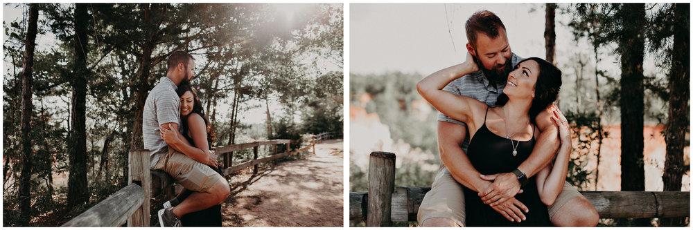 3- providence canyon georgia -engagement-session-atlanta-wedding-photographer, Aline Marin Photography.jpg