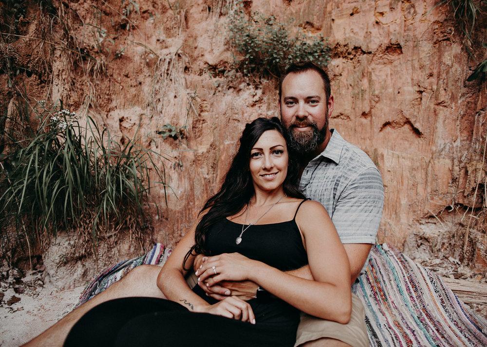 14- providence canyon georgia -engagement-session-atlanta-wedding-photographer, Aline Marin Photography.jpg