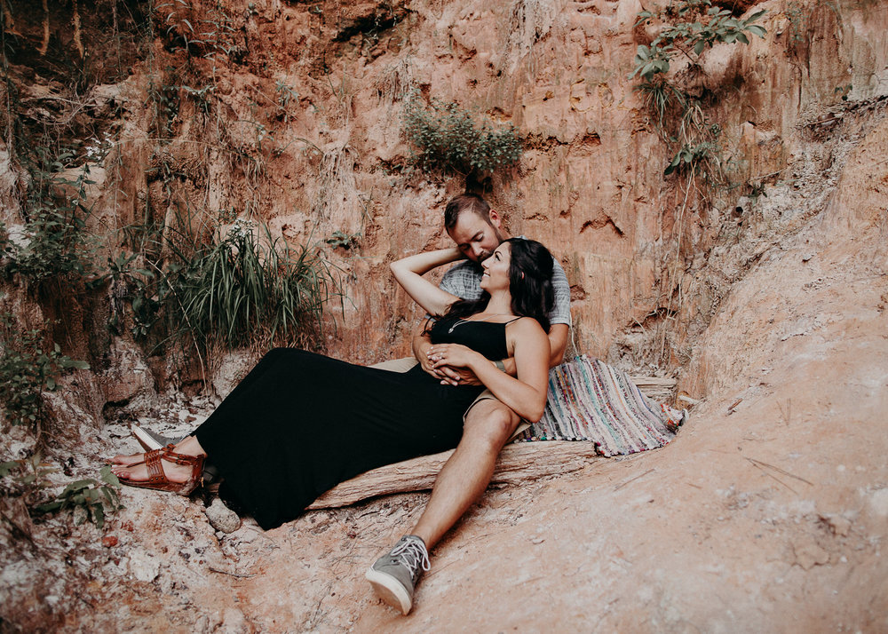 15- providence canyon georgia -engagement-session-atlanta-wedding-photographer, Aline Marin Photography.jpg