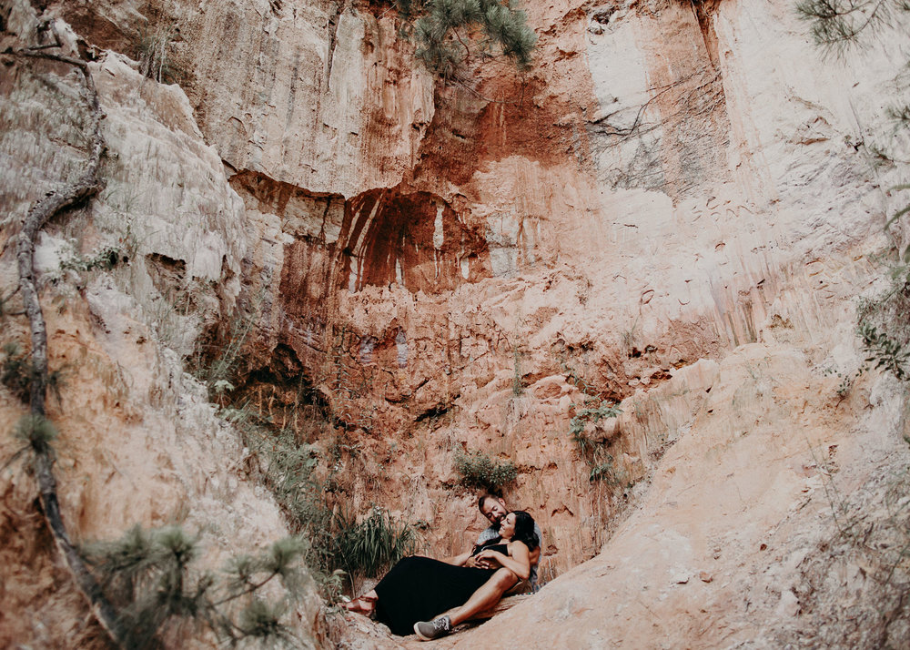 16- providence canyon georgia -engagement-session-atlanta-wedding-photographer, Aline Marin Photography.jpg