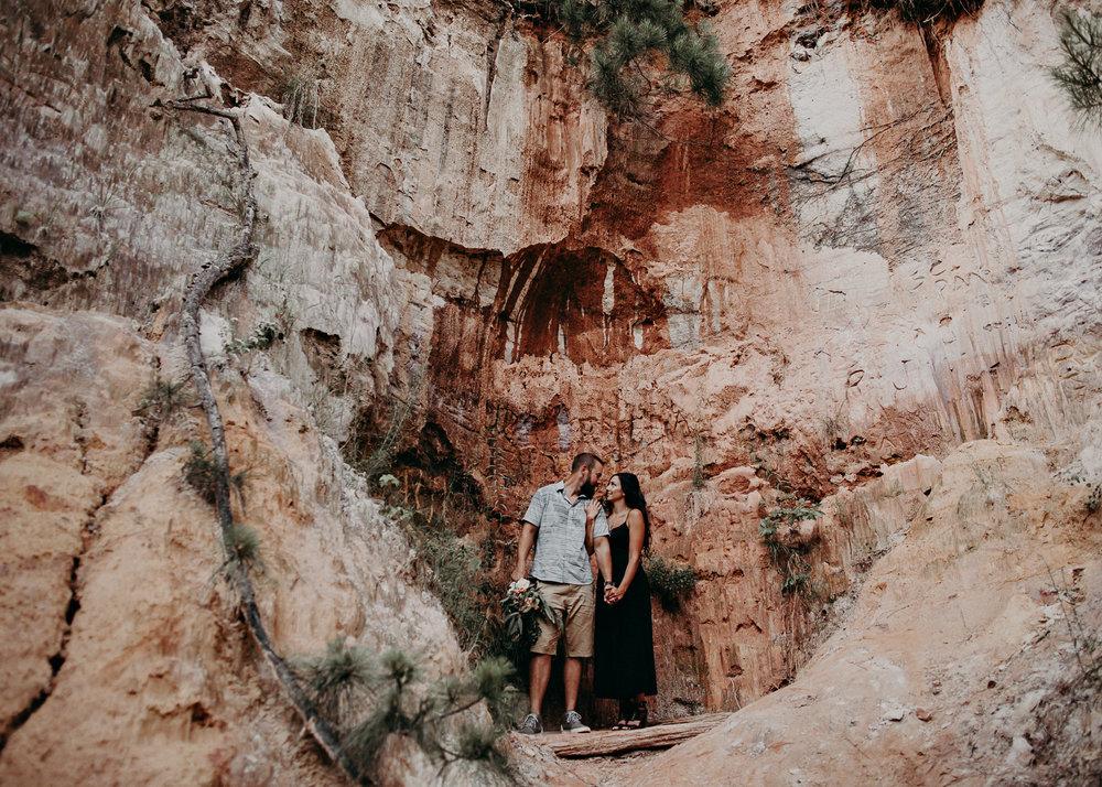 19- providence canyon georgia -engagement-session-atlanta-wedding-photographer, Aline Marin Photography.jpg