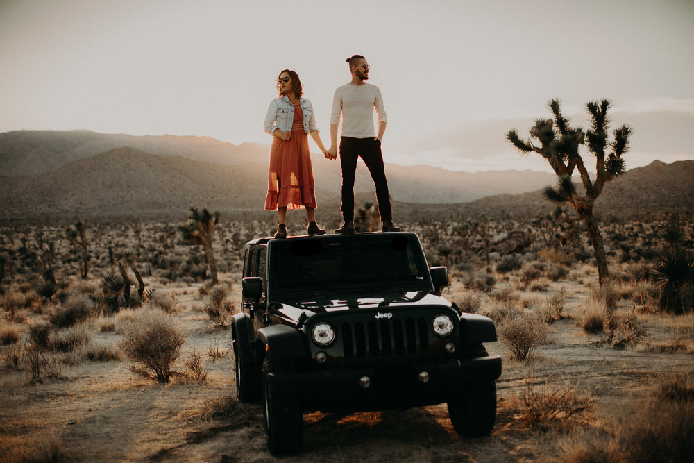 These hot babes are my husband and I ;)  in Joshua Tree, Image by Strain Photography
