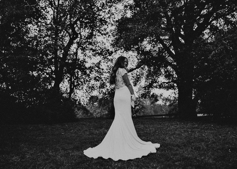 35 - wedding dress, bouquet - bride getting ready wedding seranbi farms atlanta .jpg