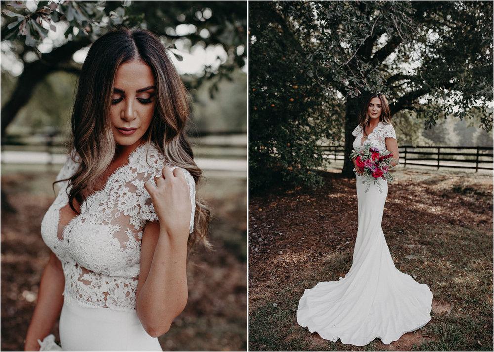48 - wedding dress, bridesmaids, bouquet - bride getting ready wedding seranbi farms atlanta .jpg