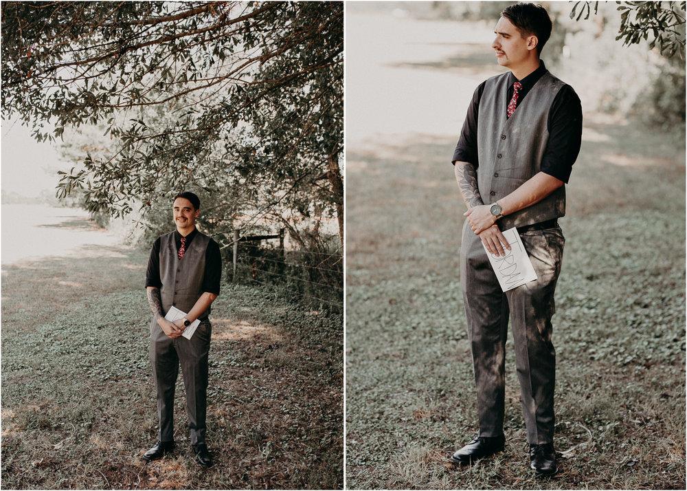 33 - Wedding first look : Atlanta wedding photographer .jpg
