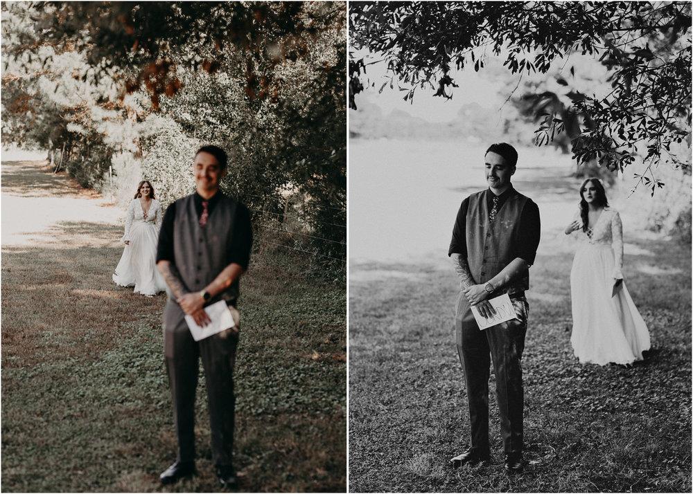 36 - Wedding first look : Atlanta wedding photographer .jpg