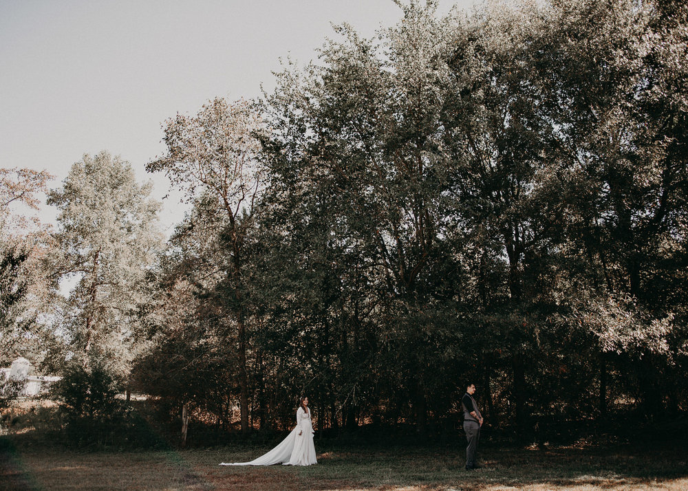 37 - Wedding first look : Atlanta wedding photographer .jpg