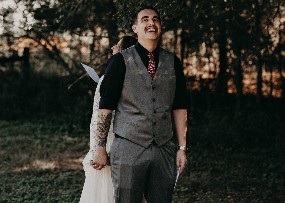 44 - Wedding first look : Atlanta wedding photographer .jpg