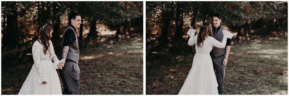 49 - Wedding first look : Atlanta wedding photographer .jpg