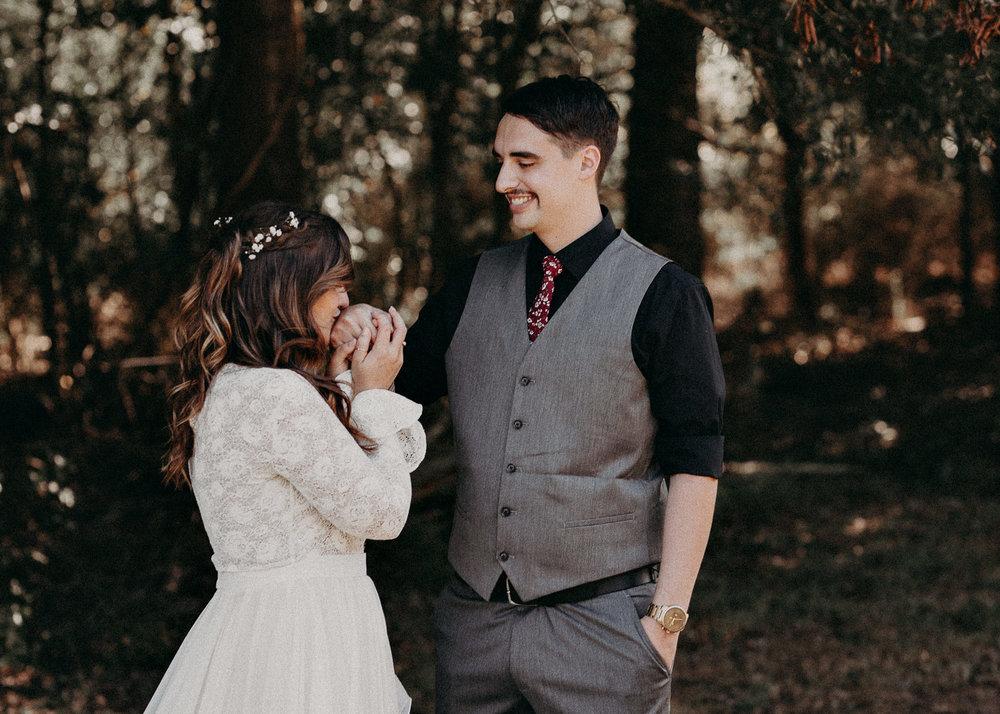 53 - Wedding first look : Atlanta wedding photographer .jpg