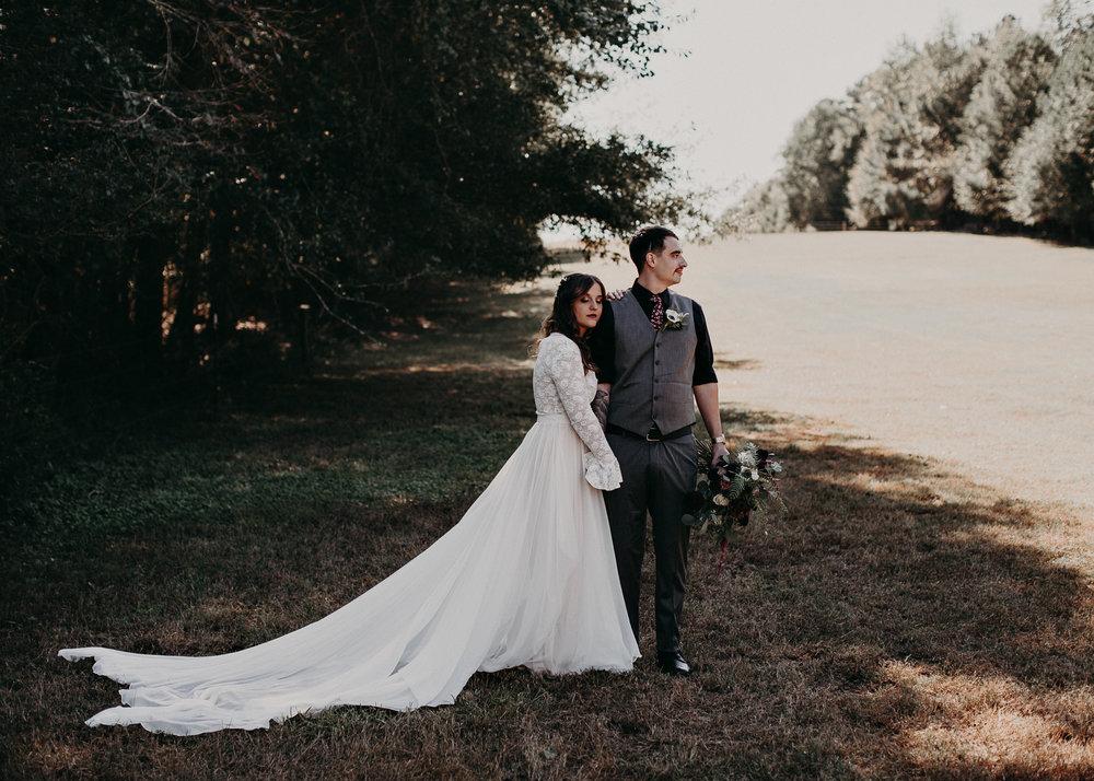 69 - Wedding bride and groom portraits : Atlanta wedding photographer .jpg