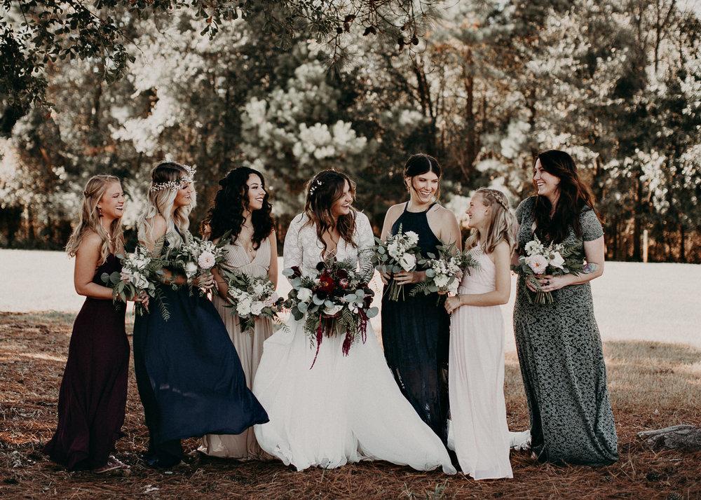 84 - Wedding bride and bridesmaids portraits : Atlanta wedding photographer .jpg