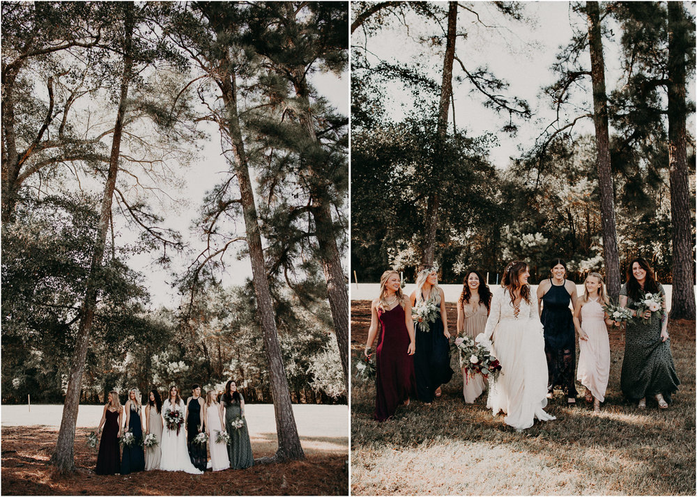 87 - Wedding bride and bridesmaids portraits : Atlanta wedding photographer .jpg