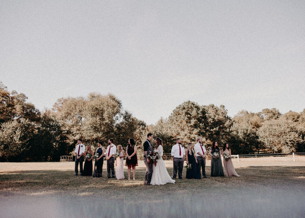 94 - Wedding groom and bride with bridal party portraits - Atlanta wedding photographer.JPG
