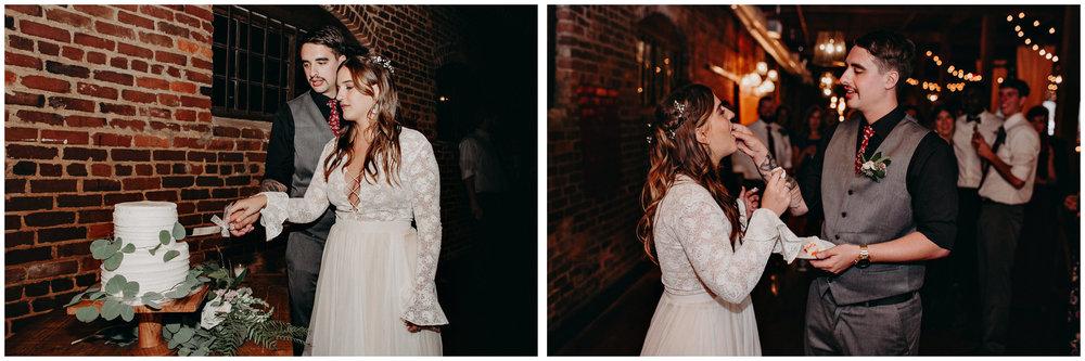155 - Cake cutting wedding - Atlanta wedding photographer.JPG