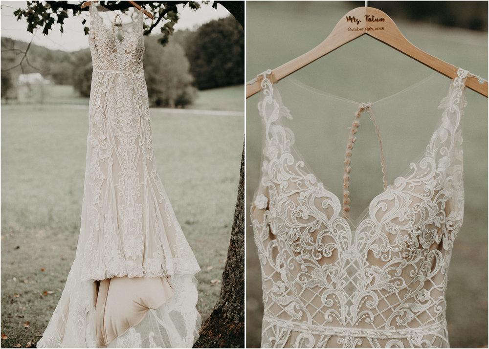 2 - Wedding details : dress : Deep South Farm Wedding Venue : Atlanta Wedding Photographer .jpg