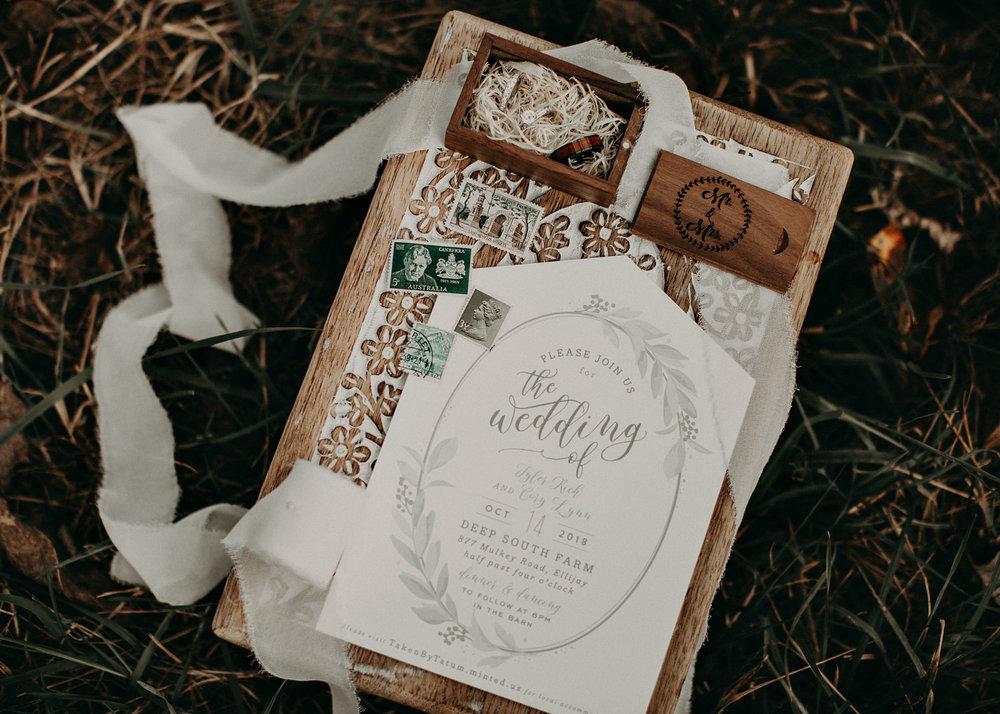 7 - Wedding details : bouquet : boots : Deep South Farm Wedding Venue : Atlanta Wedding Photographer .jpg