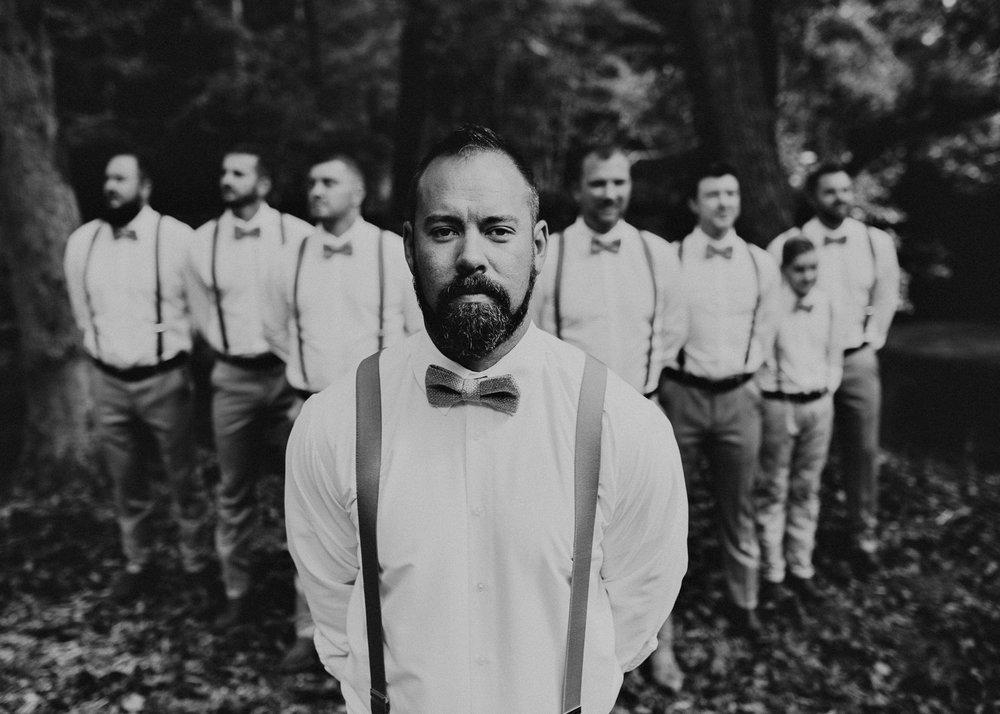 13 - Wedding details : groom getting ready: groomsmen : Deep South Farm Wedding Venue : Atlanta Wedding Photographer .jpg