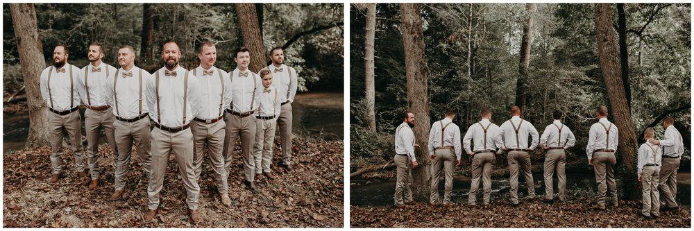 14 - Wedding details : groom getting ready: groomsmen : Deep South Farm Wedding Venue : Atlanta Wedding Photographer .jpg
