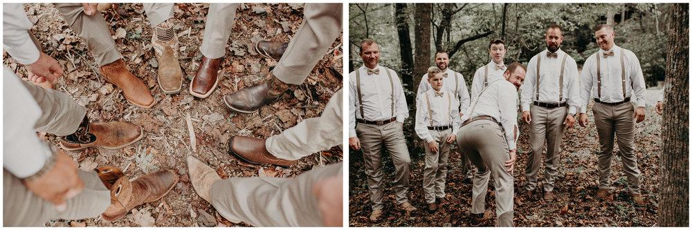 15 - Wedding details : groom getting ready: groomsmen : Deep South Farm Wedding Venue : Atlanta Wedding Photographer .jpg